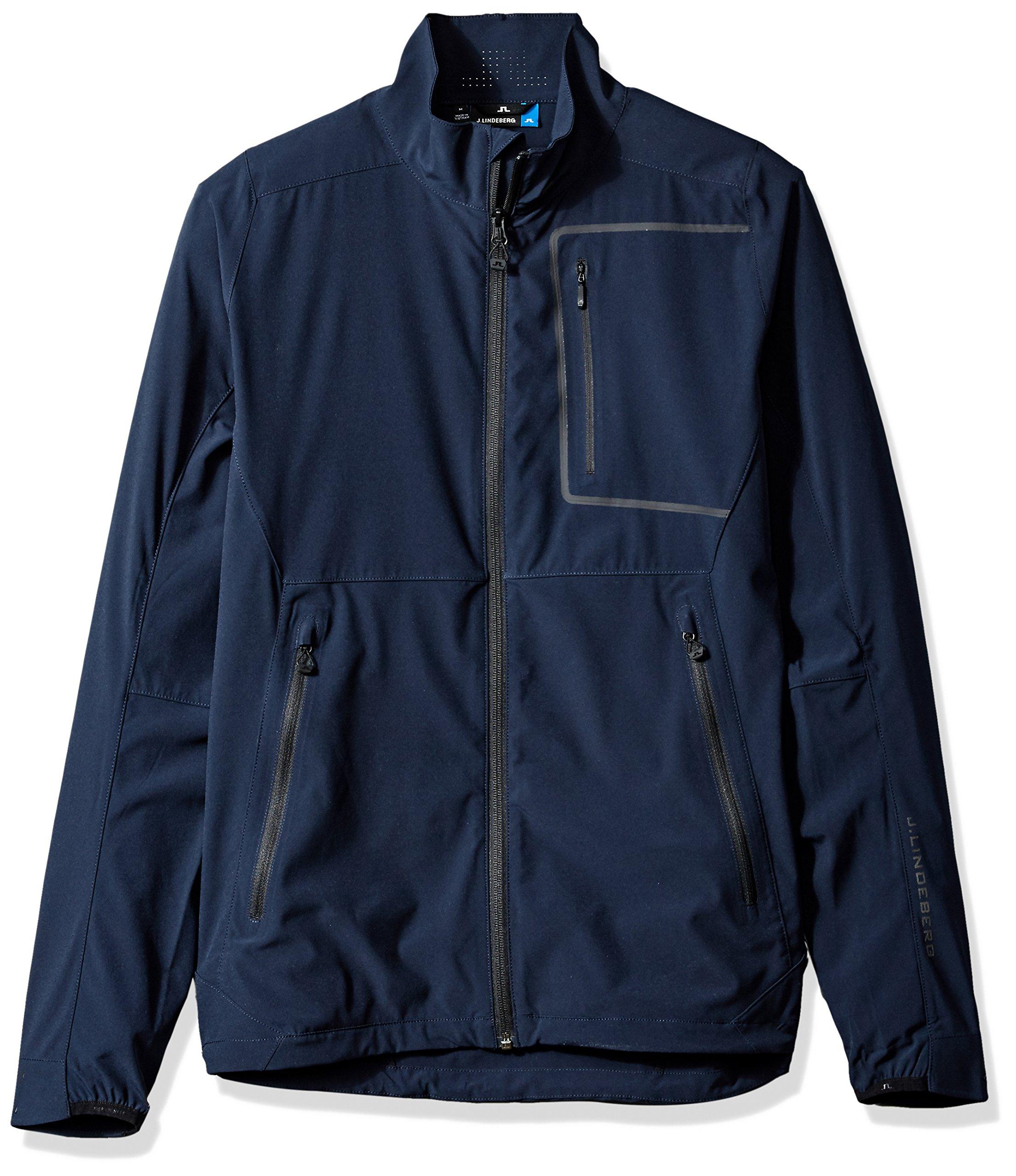 J.Lindeberg Men's Water Repellent Soft Shell Jacket, JL Navy, XL by J.Lindeberg