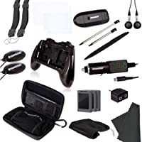 dreamGEAR Nintendo 3DS 20-in-1 Essentials Kit (black)