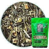 Light Citrus Green Tea | LEAN GREEN MACHINE 1.9 Ounce Pouch by TIESTA TEA | Medium Caffeine | Loose Leaf Green Tea Slenderizer Blend | Non-GMO