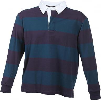 Camiseta polo de manga larga de B4088, de tela gruesa, en estilo ...
