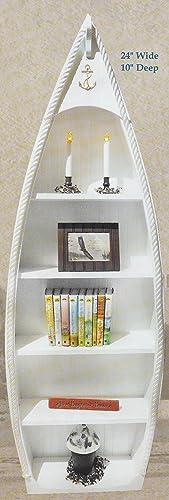 68″ Rowboat Bookcase Patriot Blue