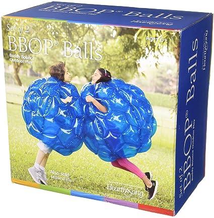 Amazon.com: BBOP - Juego de 2 pelotas hinchables de plástico ...