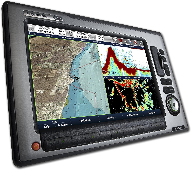 Raymarine E120 W 12.1 Pulgadas Resistente al Agua Marine GPS y GPS con Sounder: Amazon.es: Electrónica