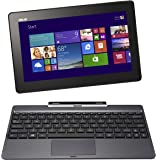 "Asus Transformer Book T100TAF-BING-DK001B PC portable Hybride Tactile 10,1"" Gris (Intel Atom, 1 Go de RAM, Disque dur eMMC 32 Go, Windows 8.1) + Microsoft Office 365 inclus"