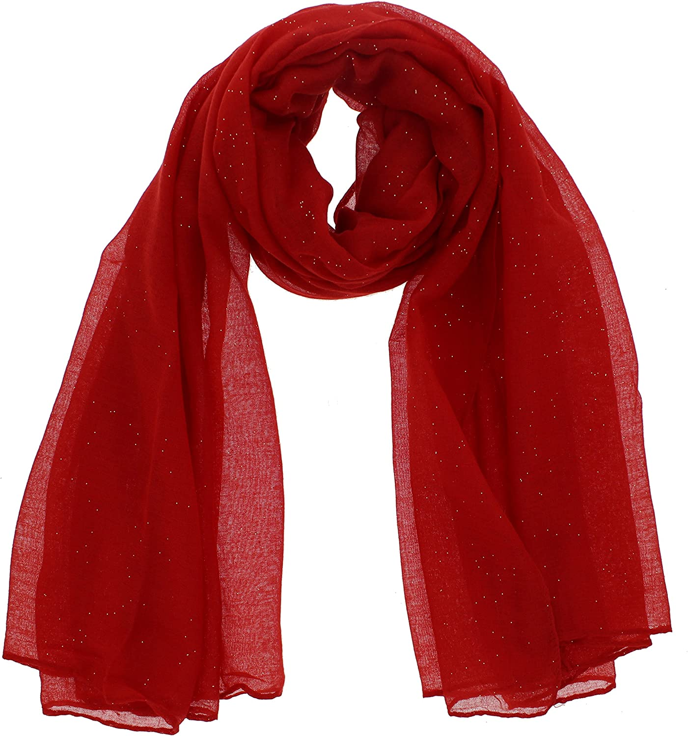 Zac/'s Alter Ego® Long Lightweight Women/'s Glitter Viscose Scarf