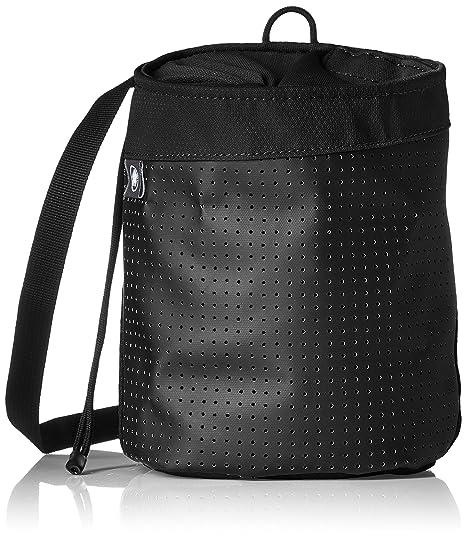 Mammut Stitch Chalk Bag Magnesia Bolsa, Color Negro, tamaño Talla única