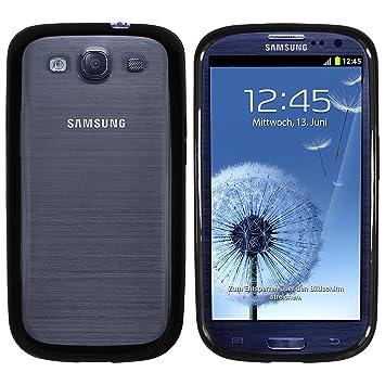 Mumbi - Carcasa para Samsung Galaxy S3 i9300 con fondo transparente