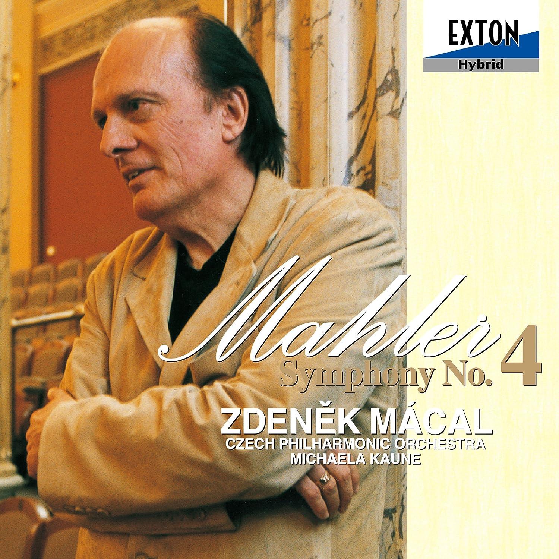 Gustav Mahler, Zdenek Macal, Czech Philharmonic Orchestra, Michaela Kaune -  Mahler: Symphony No. 4 - Amazon.com Music