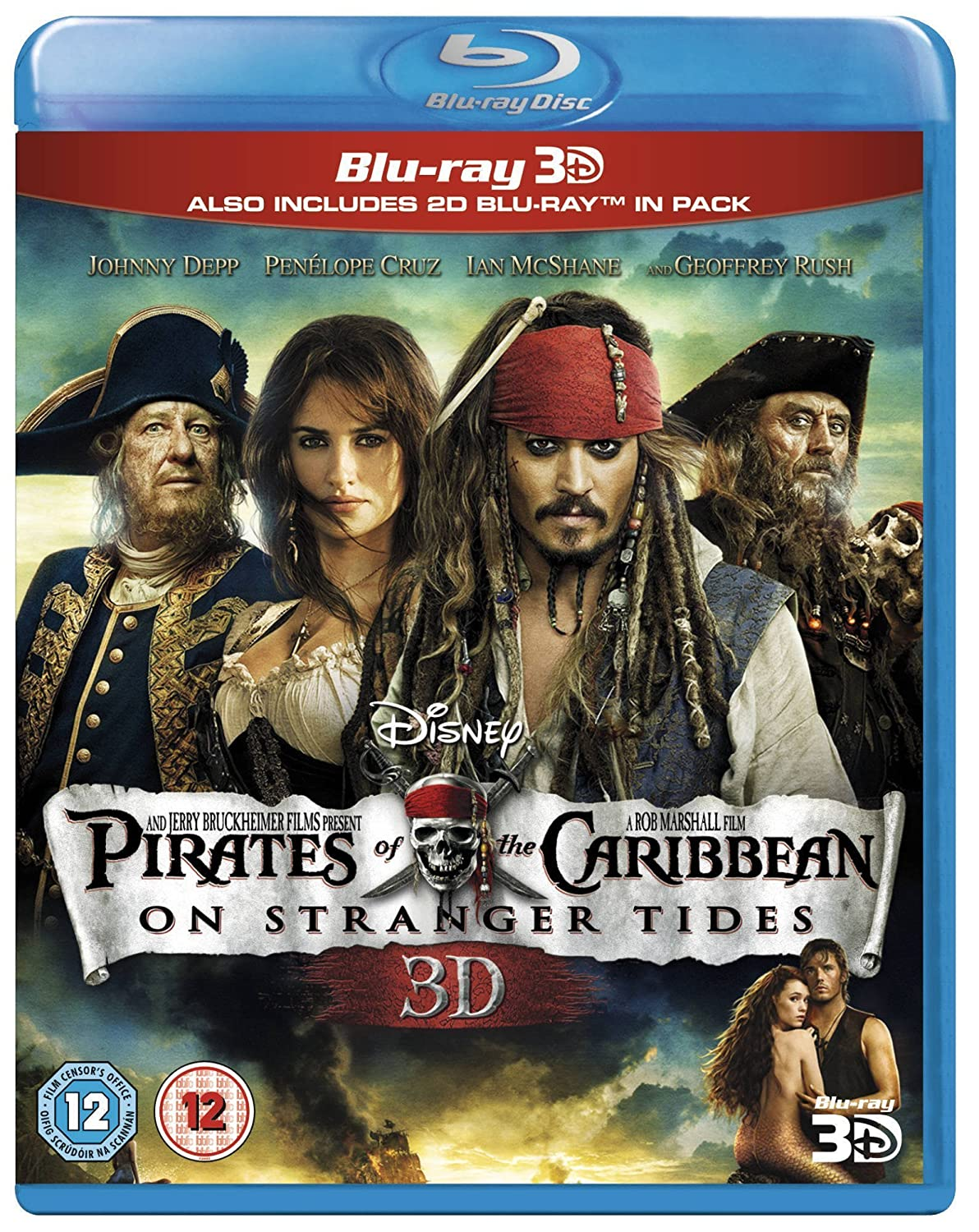 POTC On Stranger Tides 3D BD [Reino Unido] [Blu-ray]: Amazon.es ...