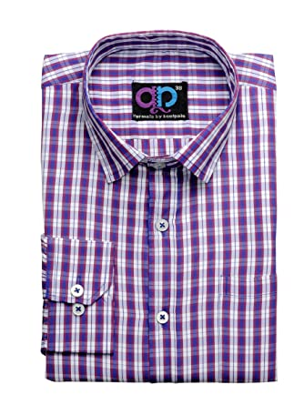 0a882f3d9d0 Koolpals Men s Cotton Formal Shirt  (1968096031 Kpms Fc24 38Rwblu3. Multi-Coloured 38)