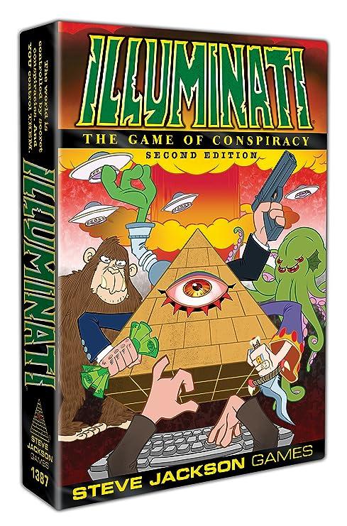 Steve Jackson Games sjg01387 Illuminati 2 nd Edition (en inglés)