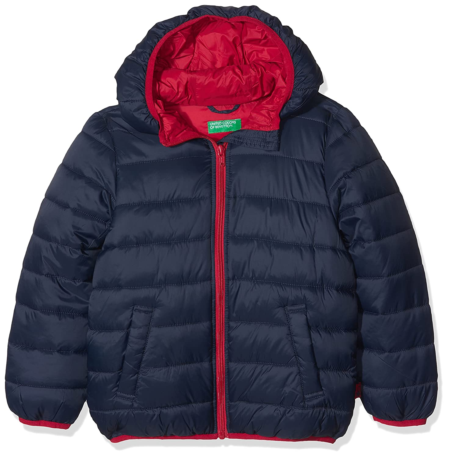 United Colors of Benetton Jacket, Giacca Bambino Blu (Navy Blue 13c) 2BA253AD0
