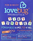 LoveBug Probiotics: Tiny Tummies - Probiotics for Kids 12 months to 4 years. 30 Day Supply of 15 Billion CFU Probiotic Powder Packets