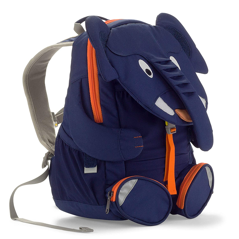 Affenzahn Mochila para ni/ños de 3 a 5 a/ños en el jard/ín de infancia Elias Elephant Azul