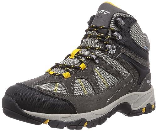 Hi-Tec Altitude Lite i WP - Botas de Senderismo de Cuero Hombre, Color Gris, Talla 47: Amazon.es: Zapatos y complementos