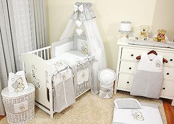 Luxus 100 Baby Bettwäsche Set Für Babybett Oder Kuscheldecketeddy