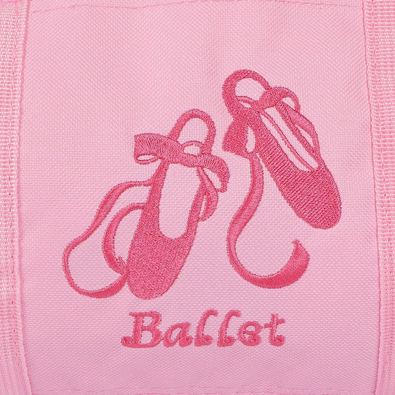 kilofly Grandes Filles Ballet Ballerina Tutu Duffel Sac de Danse bandouli/ère Poche /à Fermeture /éclair