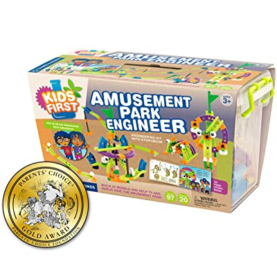 Kids First Amusement Park Engineer Kit: Toys & Games