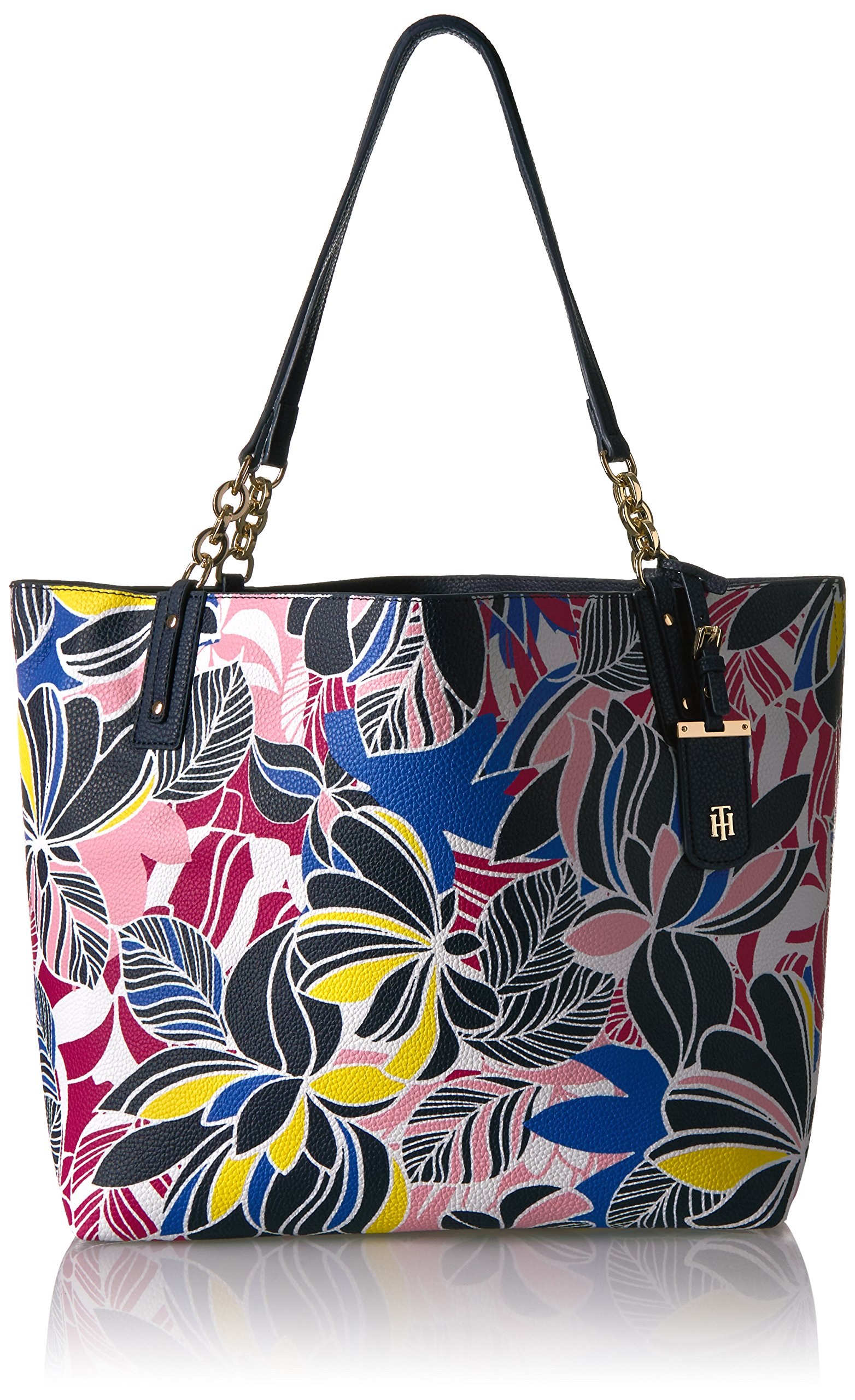 Tommy Hilfiger Travel Tote Bag for Women Gabby, Geranium Floral/Multi