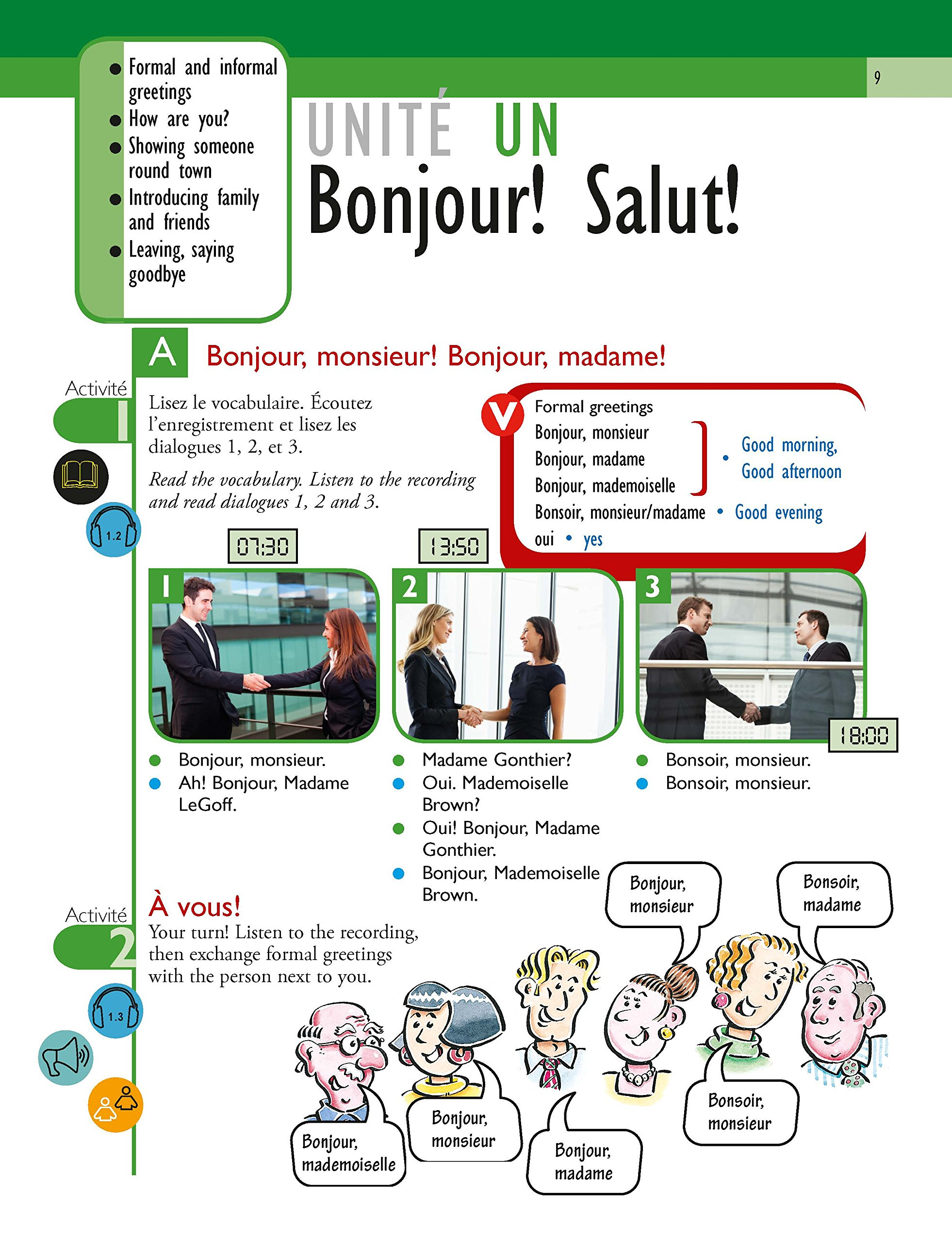 Voil 3rd Edition A French Course For Adult Beginners Course Pack