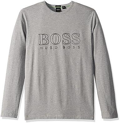 b8d8ed31 Amazon.com: Hugo Boss Men's Togn Us Reflector Logo T-Shirt: Clothing