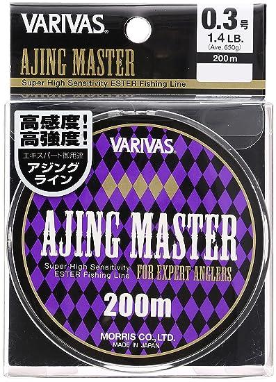 モーリス(MORRIS)エステルラインバリバスアジングマスター200m0.3号1.4lbクリアの画像