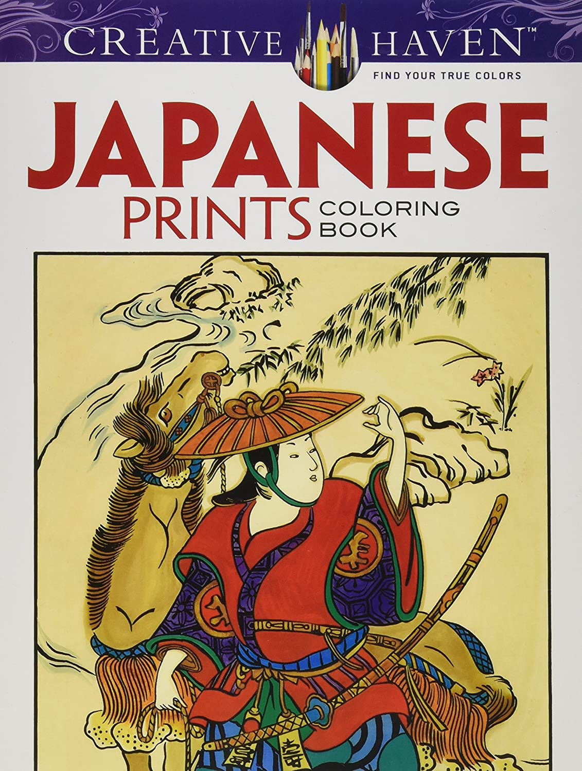 Dover Paper Publications-Creative Haven - Impresiones japonesas