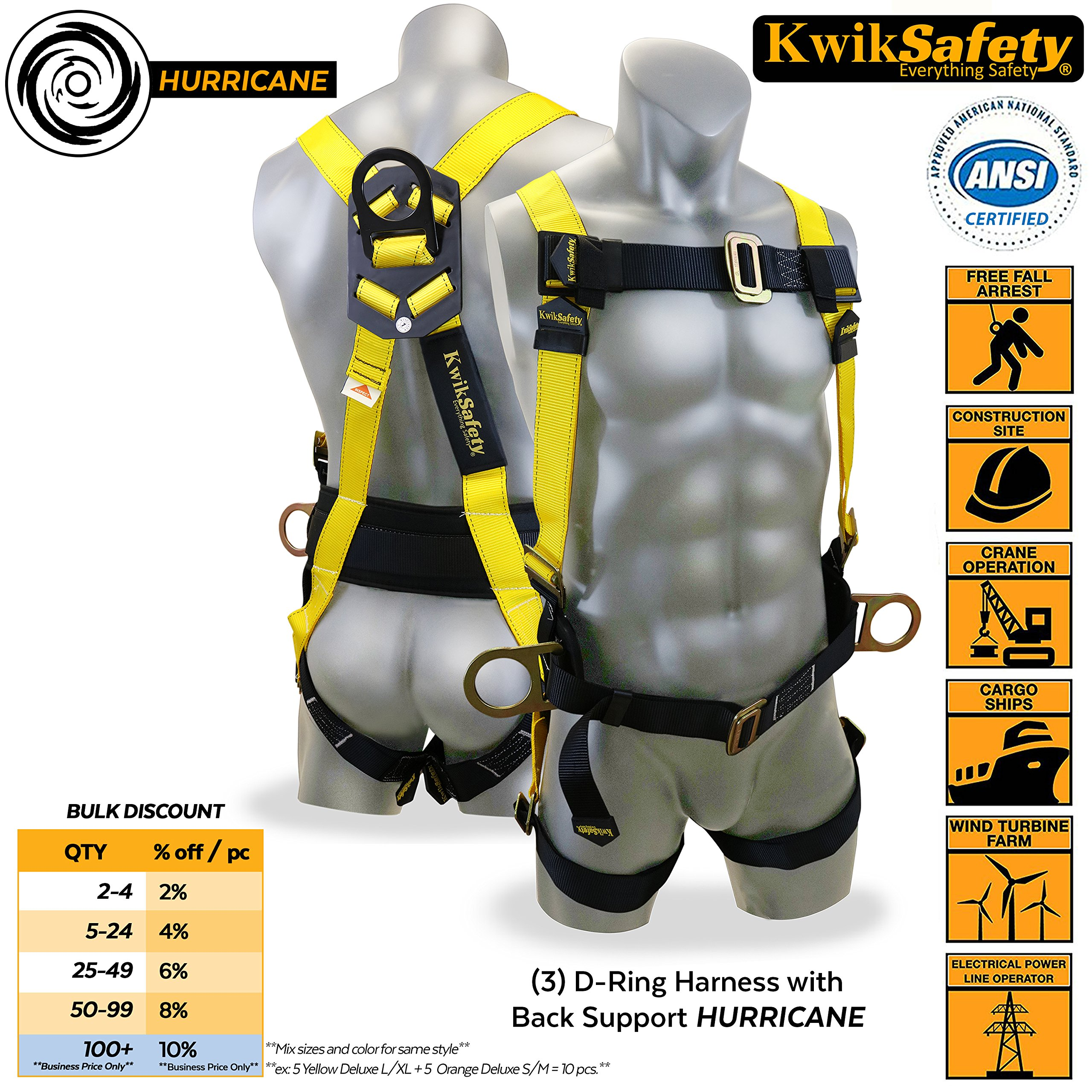 91w+Iup++1L best rated in fall arrest safety harnesses & helpful customer