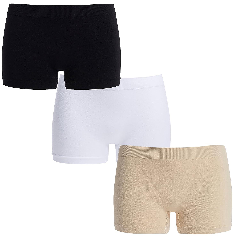 UnsichtBra Women's Comfort Panties Set of 3