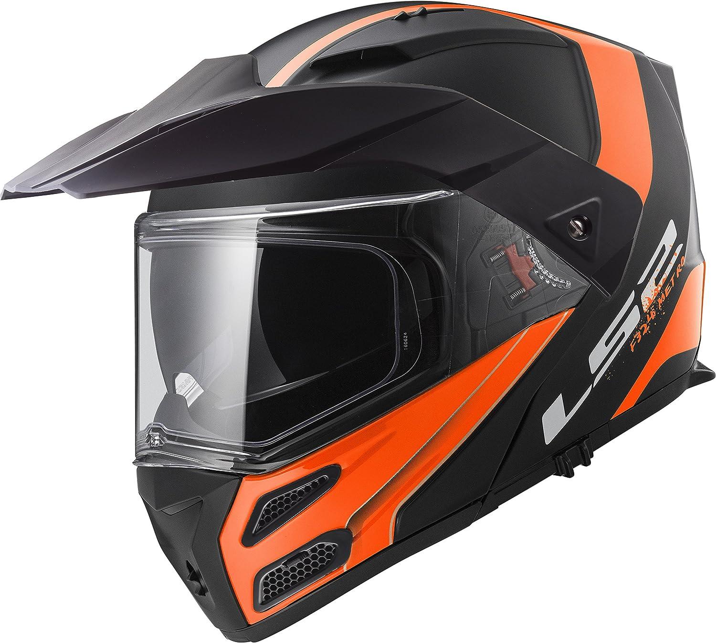 Amazon.com: LS2 Helmets Metro Unisex-Adult Modular/Flip Up Helmet (Matte Black, X-Small) (Firefly): Automotive