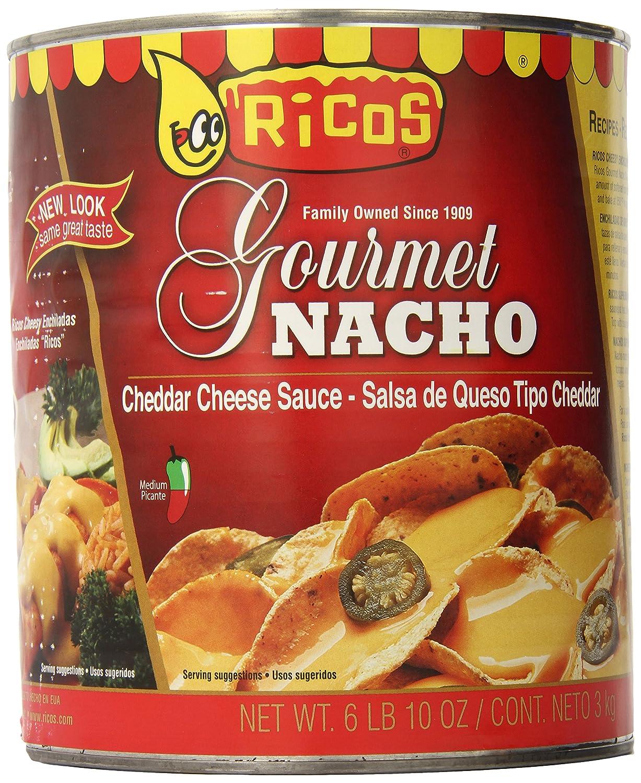 Rico's Gourmet Nacho Cheese Sauce, 6 Pound 10 Ounce