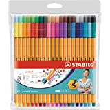 STABILO point 88 fineliner - wallet of 40 colours - 8840-1