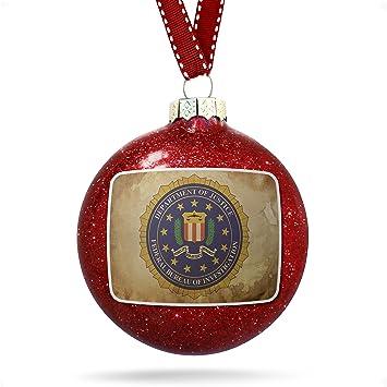 Christmas Decoration FBI Federal Bureau of Investigation Ornament - Amazon.com: Christmas Decoration FBI Federal Bureau Of Investigation