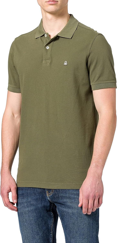 United Colors of Benetton Maglia Polo M/M 3089j3179 Camisa de polo Hombre
