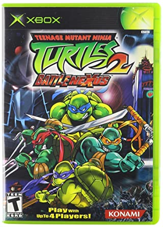 Amazon Com Teenage Mutant Ninja Turtles 2 Battle Nexus Xbox Artist Not Provided Video Games