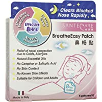 Santecare BreatheEasy Patch, 5 Count