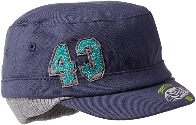 United Colors of Benetton 6HQVN4161, Gorra para Bebés, Azul (Blue) 6-