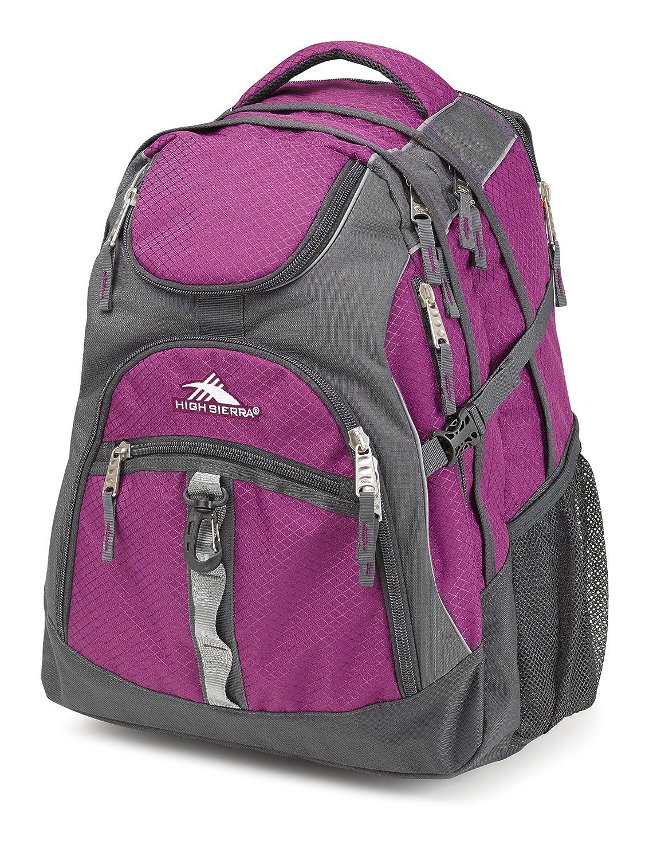 High Sierra 53671-4933 Access Backpack, Brick/Black, International Carry-On Samsonite Corporation - CA