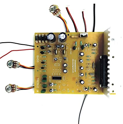 TECH AND TRADE 450 WATTS DIY STK 4141 Based Stereo Audio Amplifier Circuit