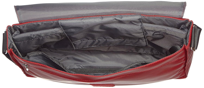 BREE - Bolso al hombro para mujer Rojo rojo: Amazon.es: Zapatos y  complementos