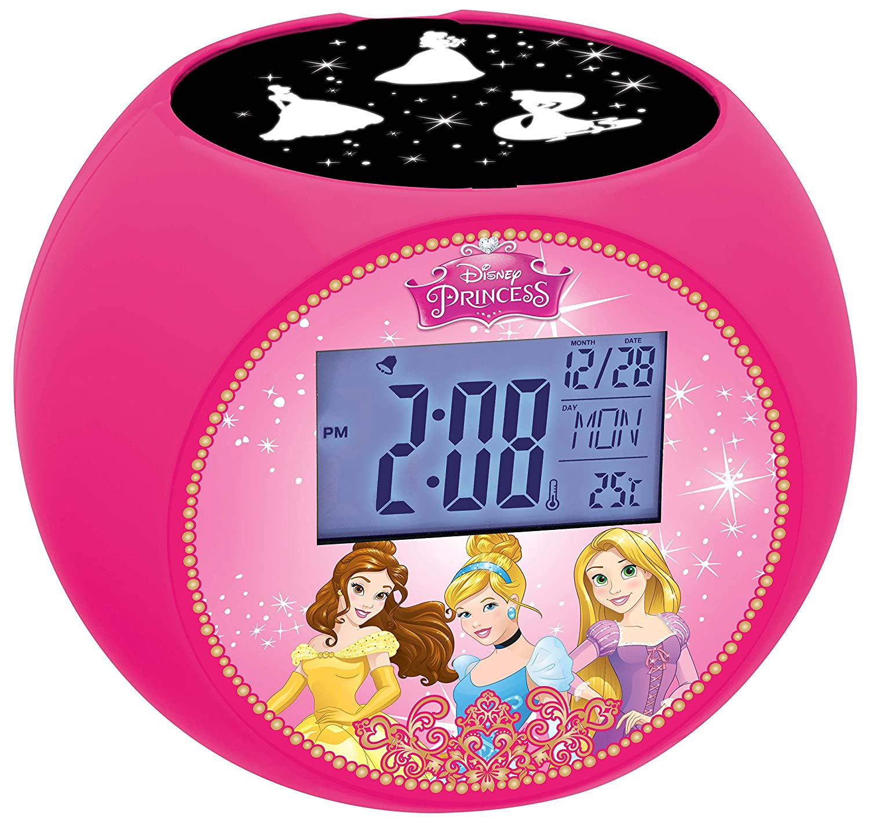 LEXIBOOK RL975DP Disney Princess Radio Alarm Projector Clock LEXIBOOOK
