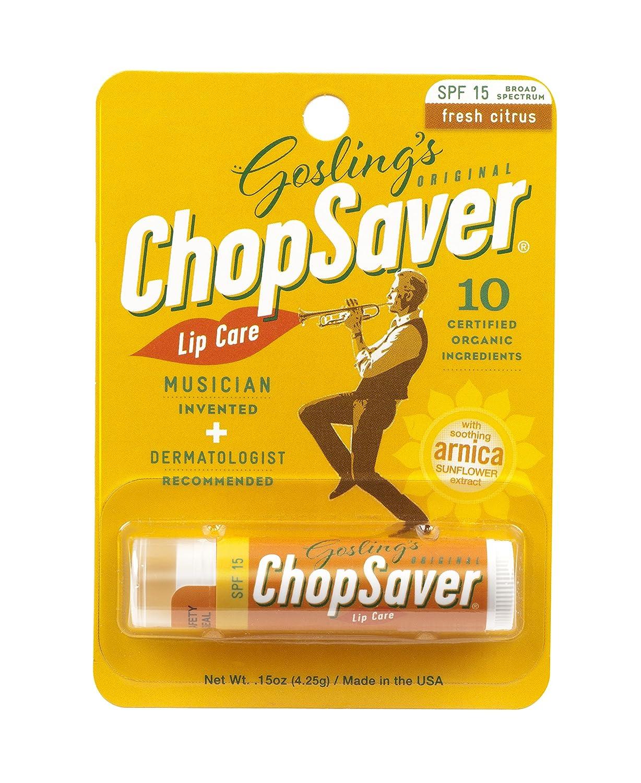 Goslings Original ChopSaver SPF 15 Lip Care, 0.15 Ounce (Pack of 6) Chop Saver Gold