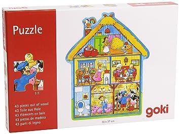 Puzzle esJuguetes 43 Goki Piezas57538Amazon Y De Juegos QtsrdhC