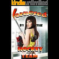 Cornered by the Hockey Team: A Futa Locker Room Erotica