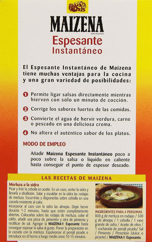 Maizena - Espesante Instant 250 g - [pack de 4]: Amazon.es: Alimentación y bebidas