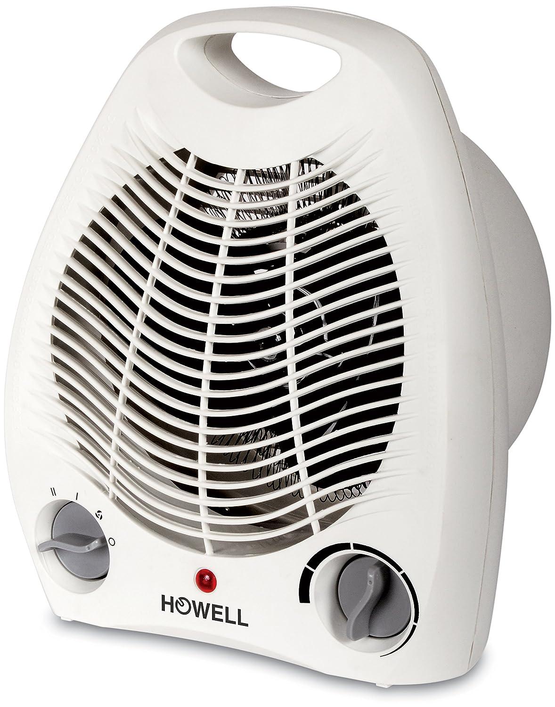 Howell RTV206 Termoventilatore, Bianco, 22.5x26.8x13 cm