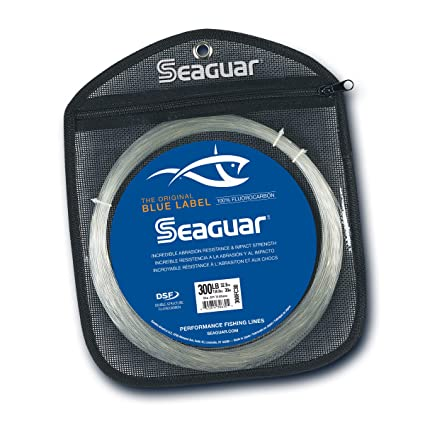 Seaguar Blue Label Fluorocarbon Fishing Line 50 Yards 50 Lbs