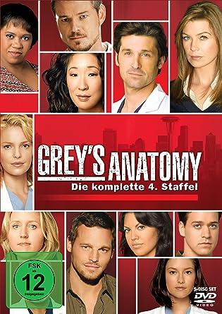 Grey\'s Anatomy: Die jungen Ärzte - Die komplette 4. Staffel 5 DVDs ...