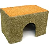 ROSEWOOD Naturals Carrot Cottage Rabbit House, Large