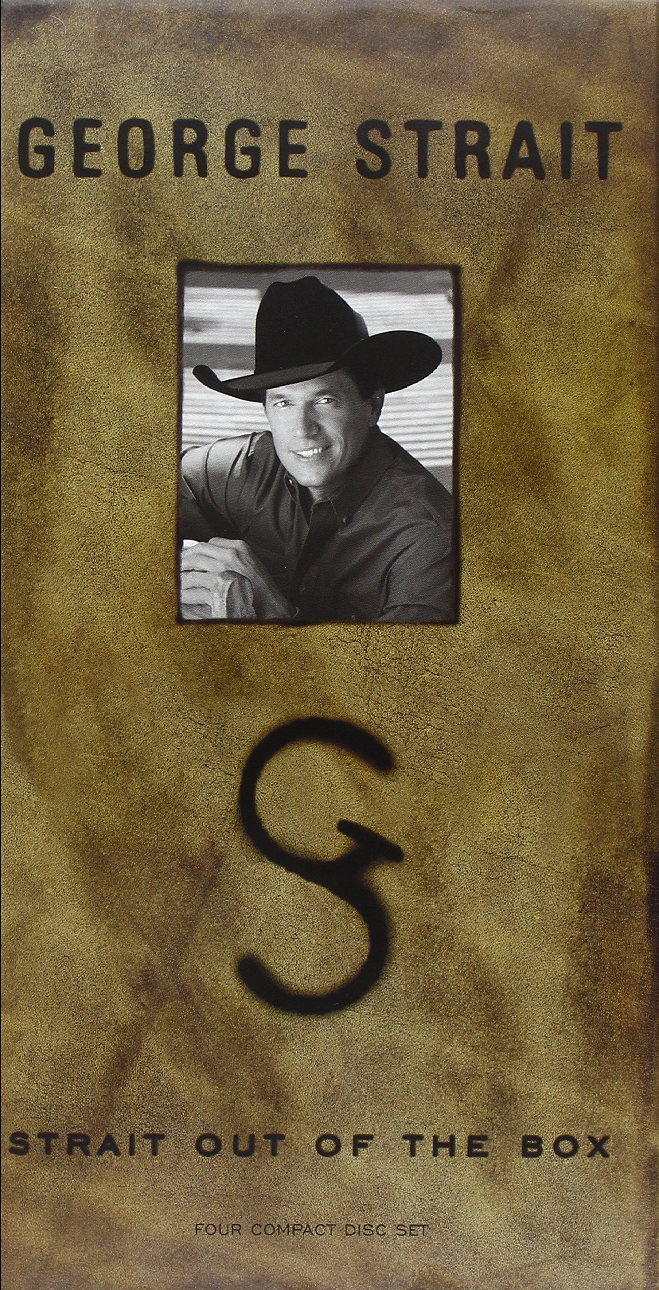 Strait Out Of The Box [4 CD/CS Box Set] by STRAIT,GEORGE